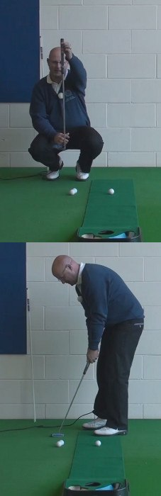 Can Plumb-Bobbing A Putt Help The Senior Golfer Putting?