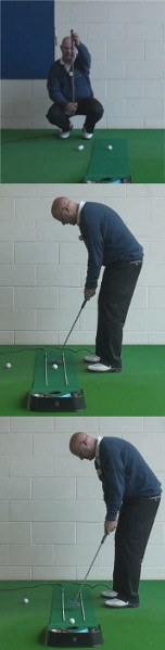 Control Focus To Hole Short Putts, Senior Putting Tip