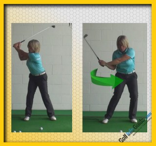 Transition, Golf Term