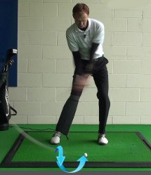 Drop Kicking, Golf Term