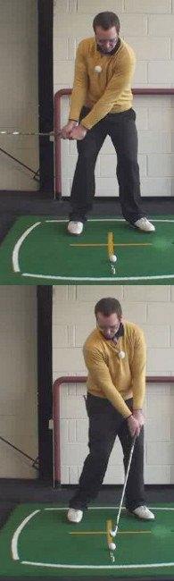 Golf Rule 14, Striking The Ball