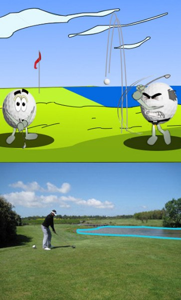 Golf Rule 26, Water Hazards (Including Lateral Water Hazards)