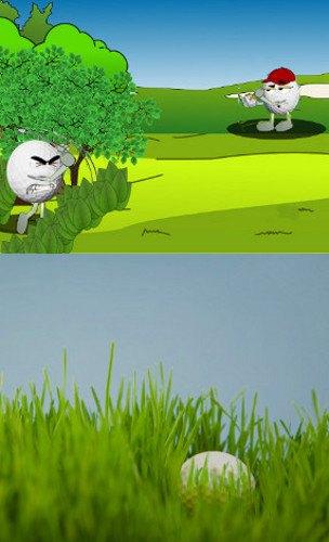 Golf Rule 28, Ball Unplayable