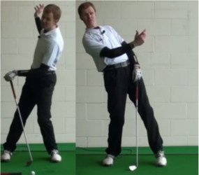 Reverse Pivot (aka Reverse Weight Shift), Golf Term