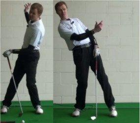 Reverse Pivot (aka Reverse Weight Shift), Golf Term