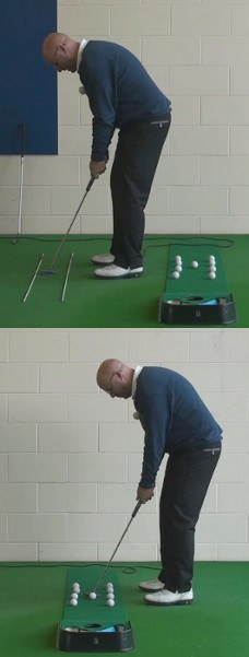 Hole More Putts With The Gate Drill, Senior Putting Tip