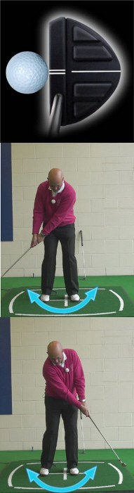 How And Why You Need Good Golf Putter Alignment, Senior Putting Tip