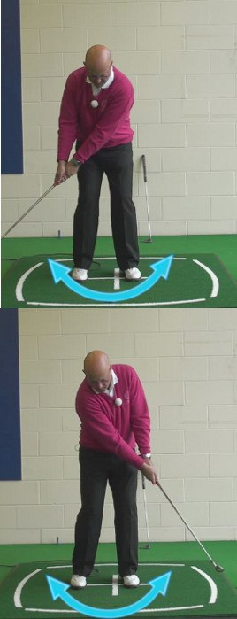 How To Create A Solid Putting Stroke: Keep The Left Wrist Firm, Senior Golf Tip