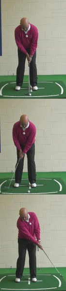 How To Putt Under Pressure, Senior Putting Tip