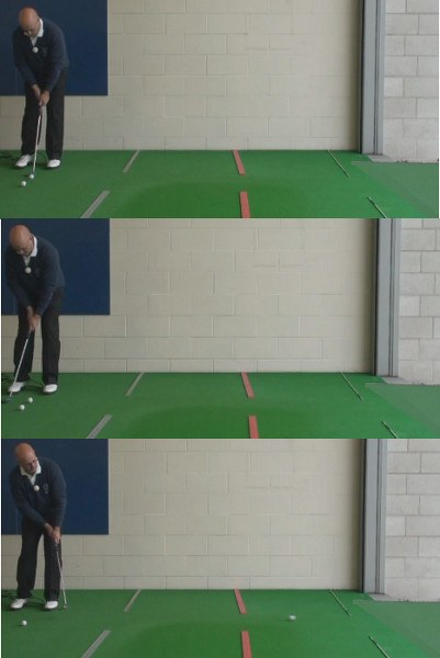 Open Putting Stance, To Help On Long Putts, Senior Golf Tip