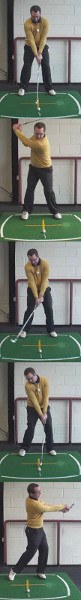 What Should My Body Weight Do During My Golf Back Swing And Down Swing?