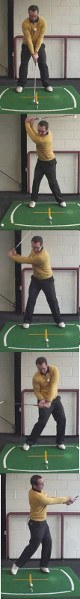 What Should My Right Elbow Do During My Golf Down Swing?