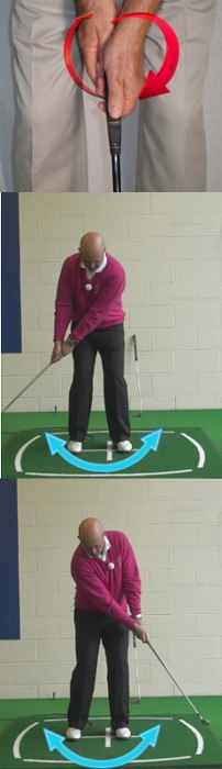 Why A Cross-Handed Grip Can Help Your, Senior Putter Tip
