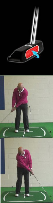 Why Making Contact With The Putter Head Sweet Spot Is So Important To Solid Putting, Senior Putting Tip