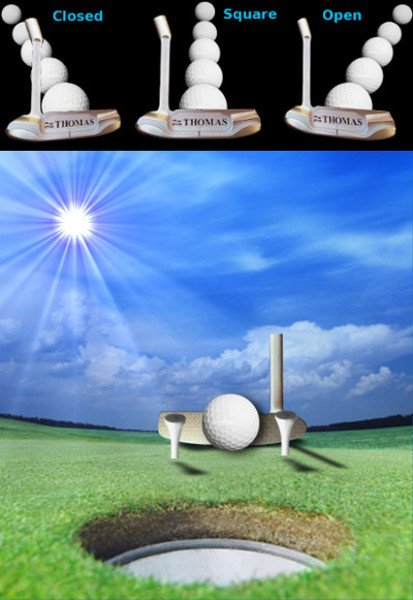 Work On Your Putting Fundamentals With The Tee Drill For Square Impact, Senior Golf Tip