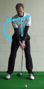 Spine Tilt at Address, Golf Term