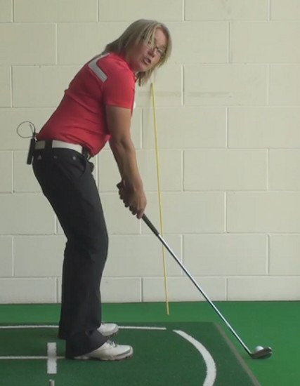 What Should I Change In My Golf Set Up When The Ball Is Above My Feet?