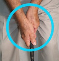 Patrick Reed Neutral grip