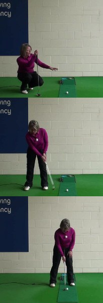 Advice On A Good Pre-Putt Routine, Women's Putting Tip
