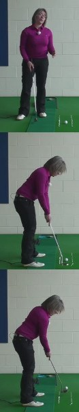 Best Method To Putt Two-Tiered Greens, Women's Golf Putting Tip