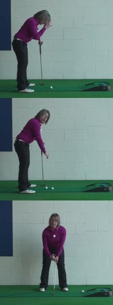 Best Three Basic Putting Tips to Help Women Golfers Putt Better