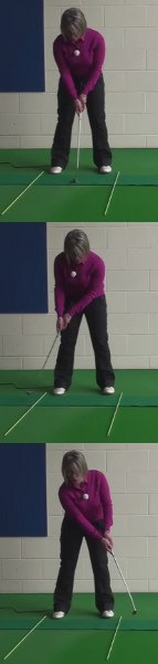 Cause And Cure: Decelerating Putting Stroke: Women's Golf Tip