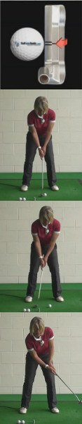 Cause and Cure for Bad Putter Alignment, Women's Golf Putting Tip