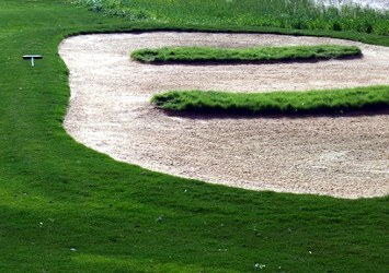 Church Pews Bunker, Golf Term