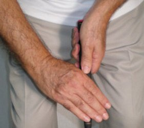 Claw Putting Grip, Golf Term