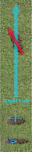 Golf Question: Can I Use The Divot To Tell Me Anything About My Golf Swing?