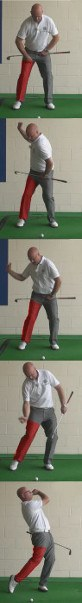 Golf Question: How Can The Position Of The Rear Leg During My Swing Affect My Golf Shots?