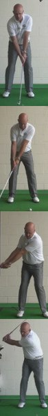 Golf Question: What Should My Left Wrist Look Like At The Top Of My Golf Back Swing?