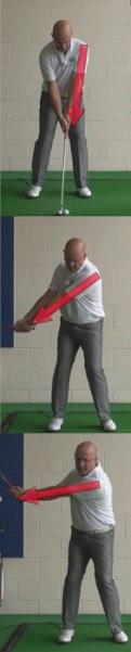 Golf Question: Which Arm Should Lead My Golf Back Swing?