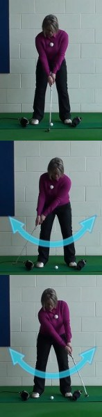 How To Create A Straight-Back-Straight-Through Putting Stroke, Women's Golf Tip