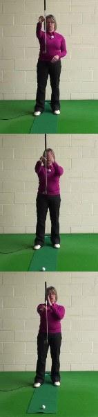 How To Plumb-Bob A Putt, Women's Golf Putting Tip
