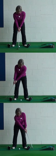 How to Create a Pendulum Putting Stroke: Women's Golf Putting Tip
