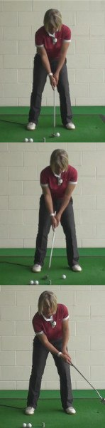 Make Sure At Address You Align Eyes Over The Golf Ball: Women's Golf Best Putting Tip
