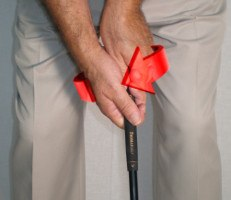 Webb Simpson strong grip