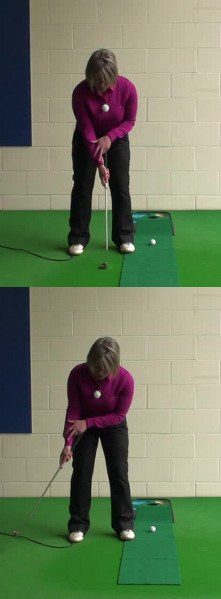 Try The One-Arm Putting Drill To Help Your Putting Stroke, Women's Golf Tip