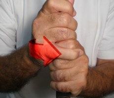 Charley Hoffman Vardon grip