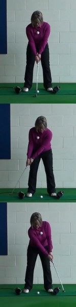 What Are The Benefits: Head Over Heel Rolling Putts, Women's Golf Putting Tip
