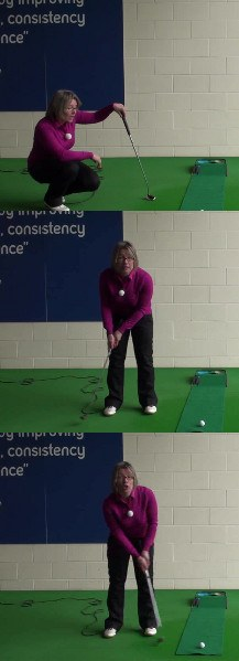 What Is The Best Pressure Putt Strategy, Women's Golf Putting Tip