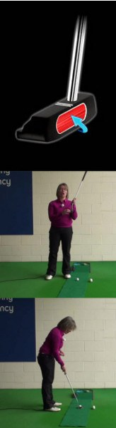What Is The Importance Of The Putter Head Sweet Spot, Women's Golf Putting Tip