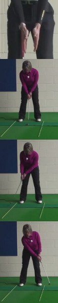 Why You Need Both Palms Parallel On The Grip: Women's Golf Putting Tip