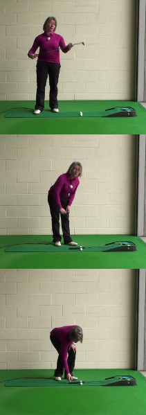 Women's Golf Drill for Putting Distance Control