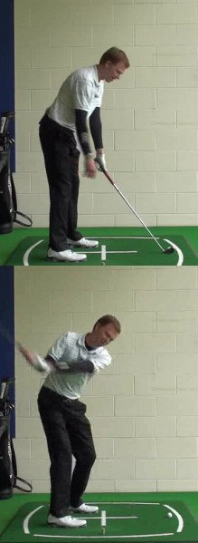 Golf Question How Can Aiming Slightly Right Improve My Golf Back Swing Turn