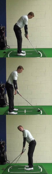 Golf Question How Can I Check The Distance From The Ball In My Golf Set Up