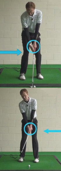Golf Question How Should My Body Position Differ When I Play A Golf Chip From A Side Hill Lie