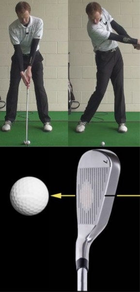 Golf Question Which Part Of The Ball Should I Look At To Make The Best Contact