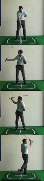 How Can Focusing On The Handle And Its Position Help Improve My Golf Swing